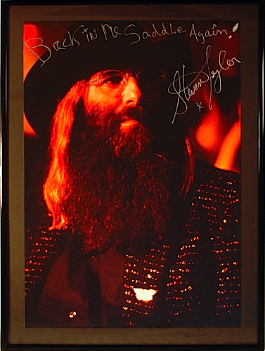 JDK photo signed by Steven Tyler
