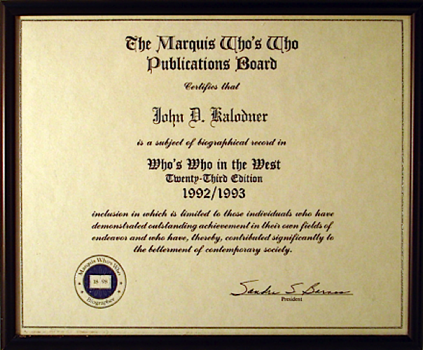 JDK - Writing Award
