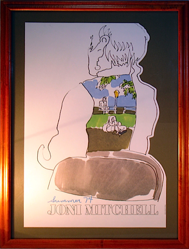 Joni Mitchell - Summer 74 artwork